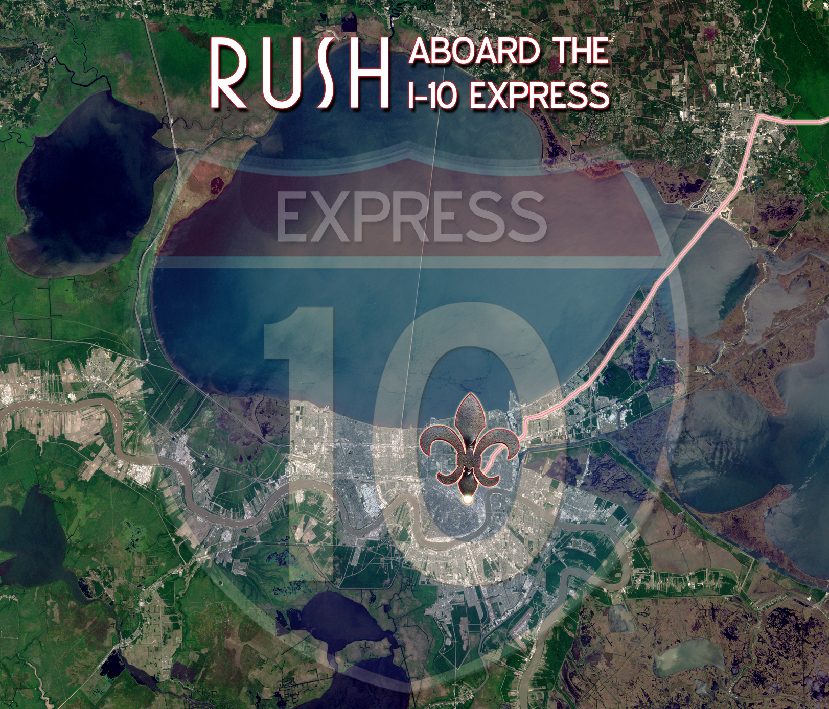 Rush - Aboard The I-10 Express